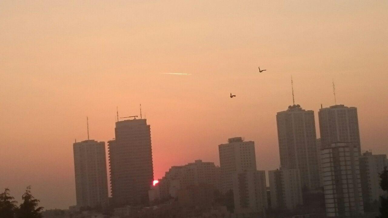 عکس از شهرک غرب تهران