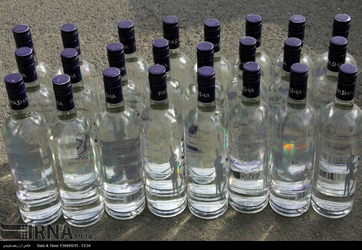 کشف بزرگترین محموله مشروبات الکلی در مهاباد