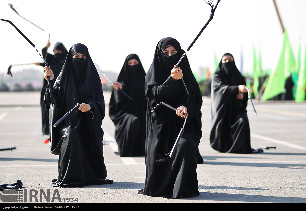 دختران نینجاکار سپاه پاسداران,زنان سپاه