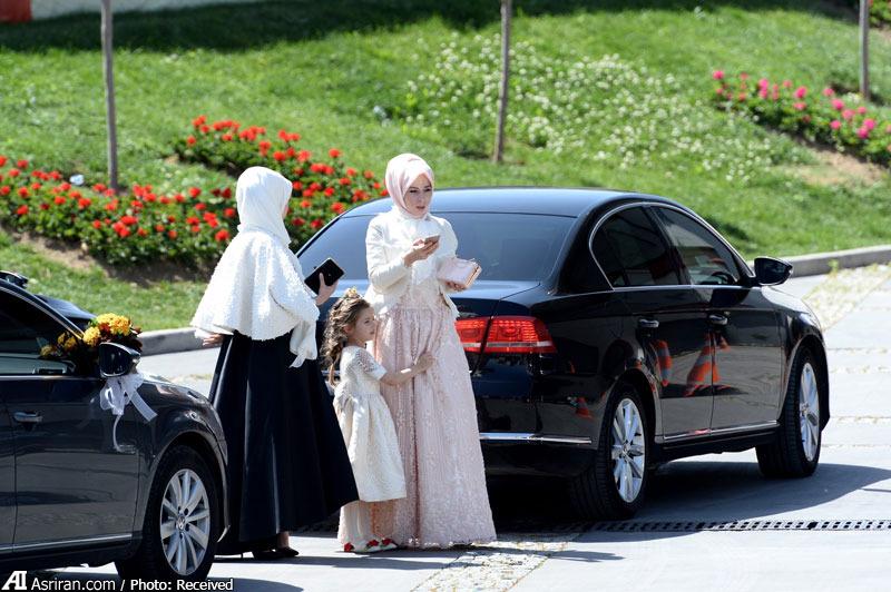 مراسم ازدواج دختر اردوغان