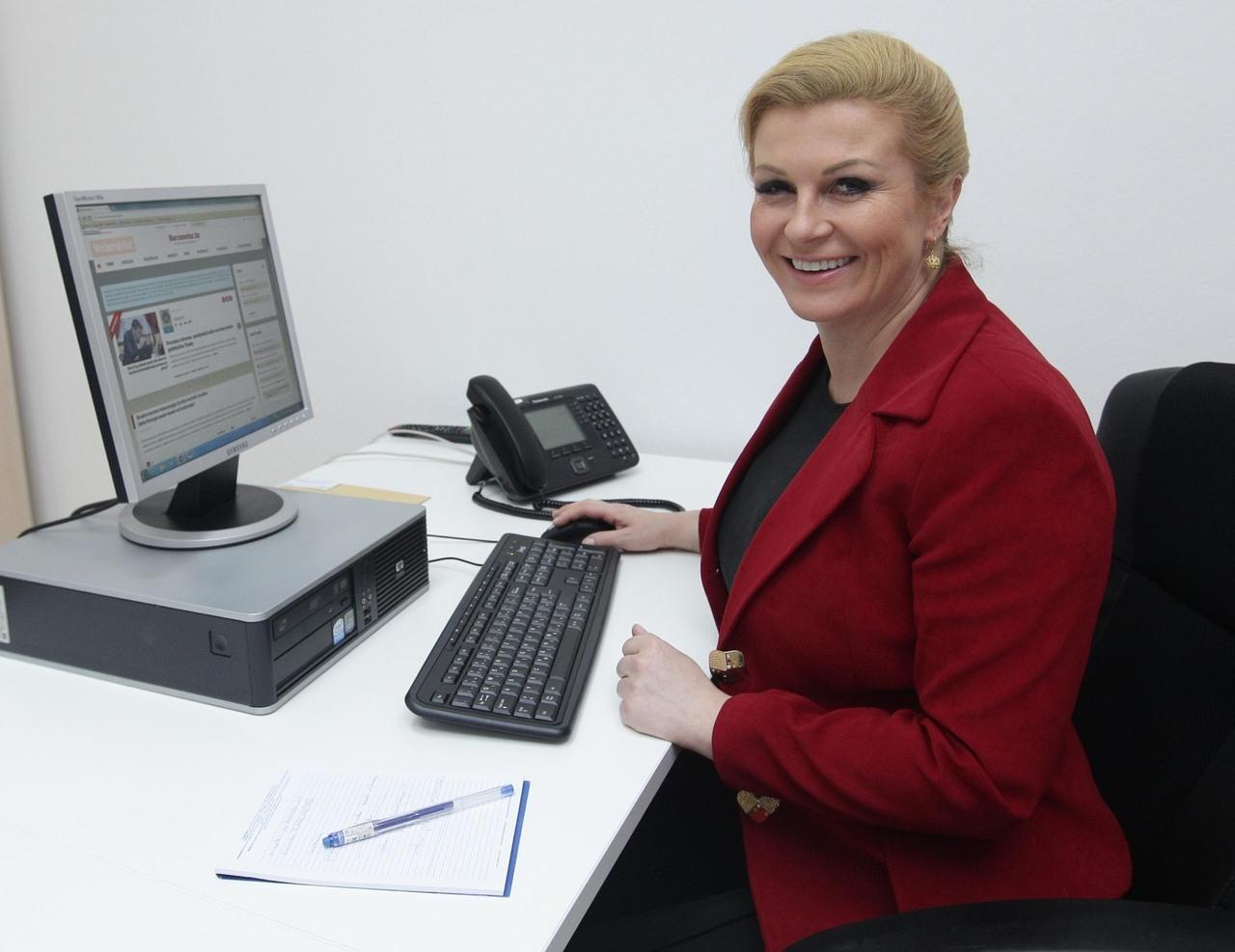 اتحاد های تلگرام رئیس جمهور زن کرواسی که به ایران آمد (عکس)