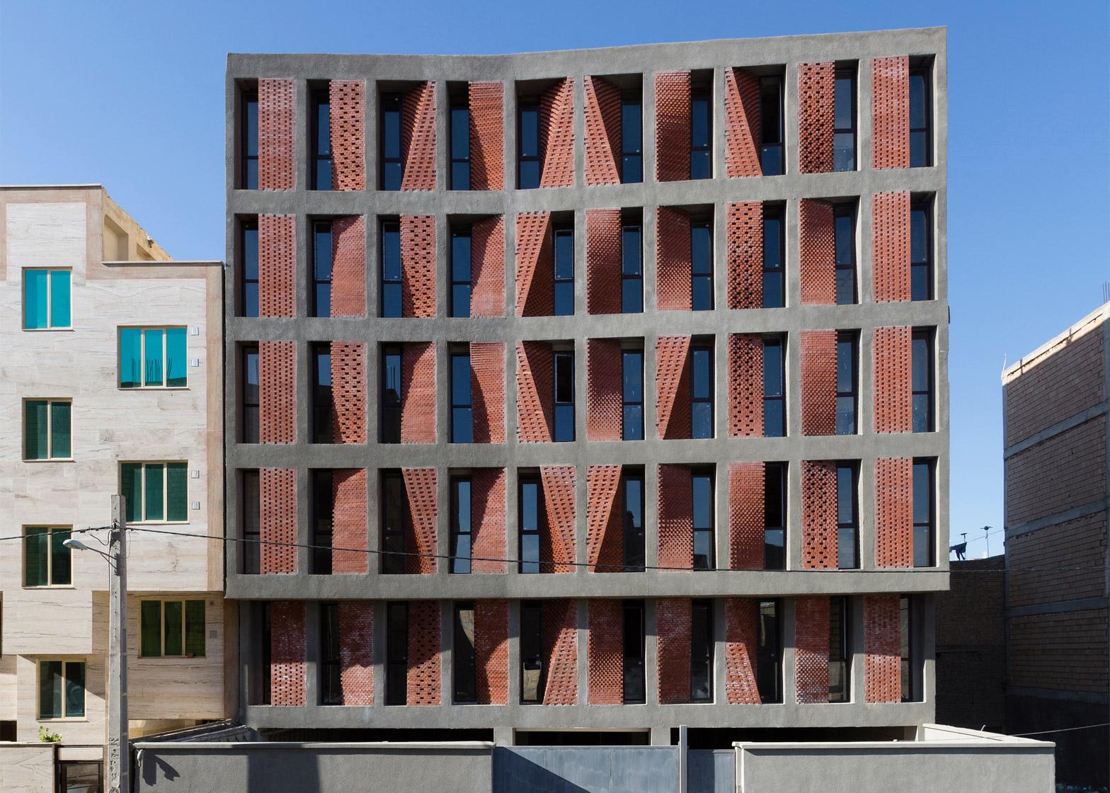 ساختمان کهریزک ؛ طراح : CAAT STUDIO