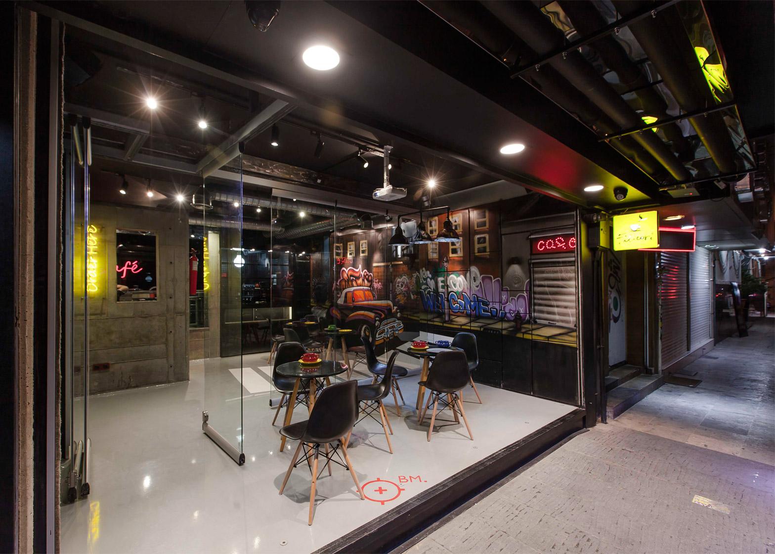 کافه امیر چکلت در تهران ؛ طراح : دفتر معماری مدام