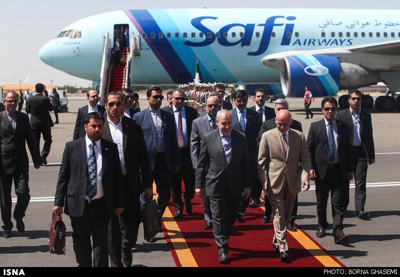 عکس رئیس جمهور افغانستان در تهران