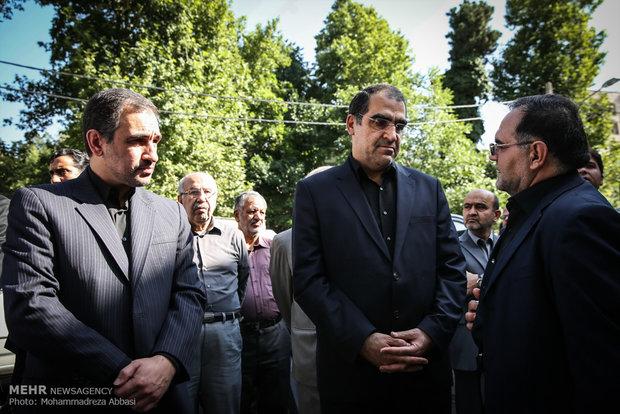 سینمایی امروز شبکه پویا تشییع پیکر علی دادمان (عکس)