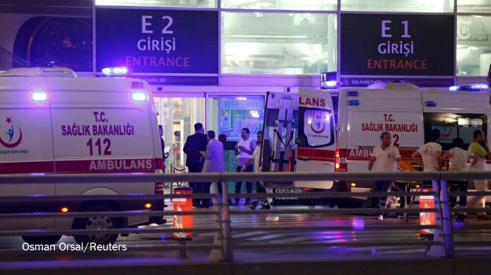 حمله تروریستی به فرودگاه استانبول