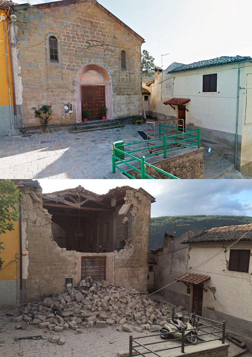 عکس زلزله زلزله ایتالیا توریستی ایتالیا اخبار ایتالیا