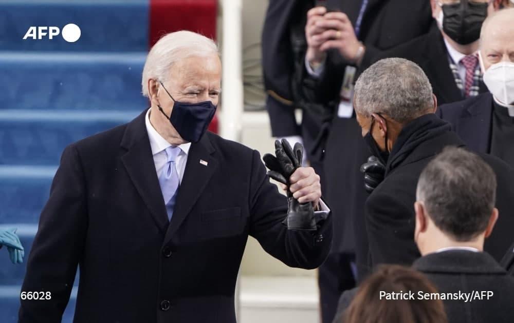 مراسم تحلیف جو بایدن رئیس جمهور جدید امریکا