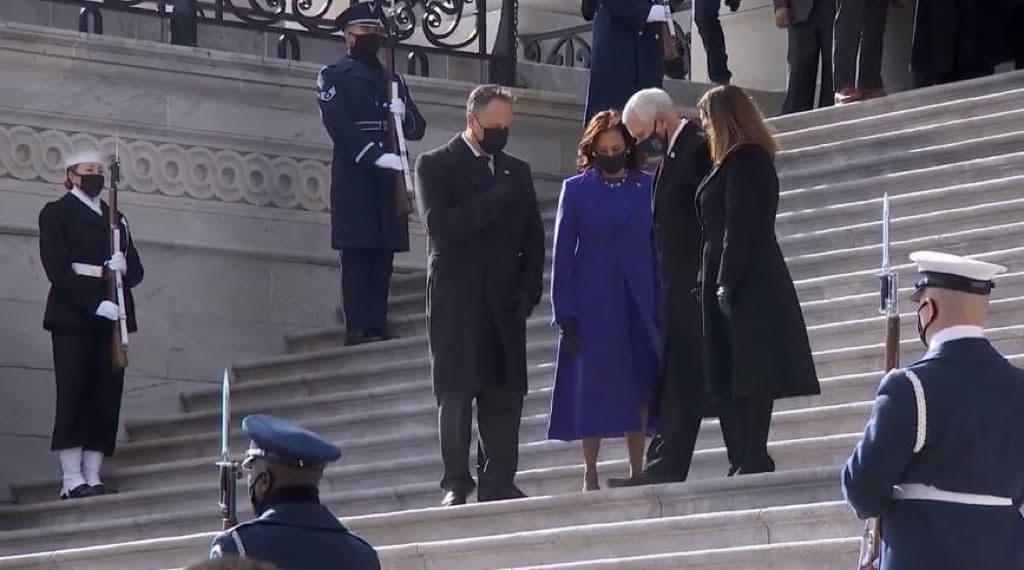 مراسم تحلیف جو بایدن رئیس جمهور جدید امریکا/ بایدن: با دنیا تعامل خواهیم کرد