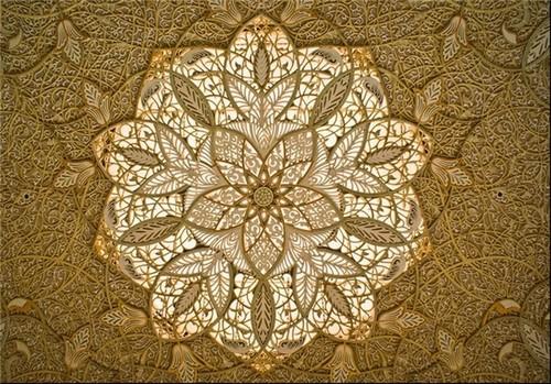 مسجد شیخ زائد در ابوظبی – دبی