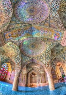مسجد نصیرالملک در شیراز – ایران