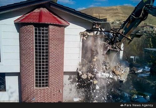 فروش ویلا در بومهن فروش زمین در بومهن تخریب ساختمان