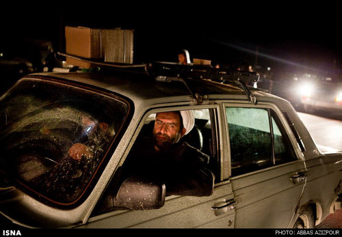 عکس مسافران کربلا در مرز مهران