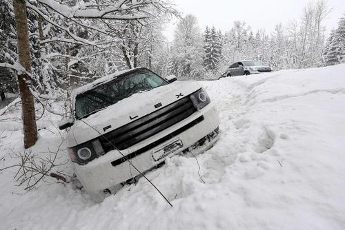 زمستان برفی در آلمان