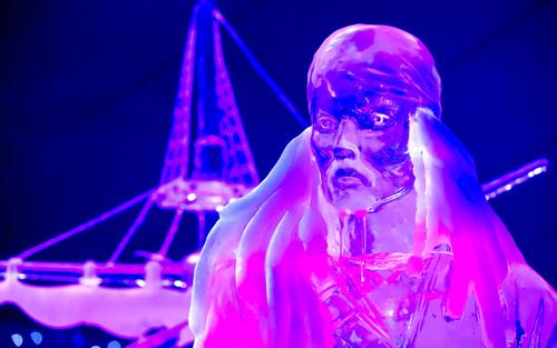 جشنواره سازه های یخی در لی یژ بلژیک