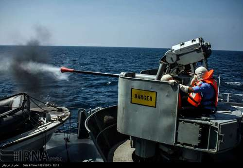 ناوگروه نیروی دریایی در خلیج عدن (عکس)