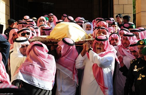 تشییع جنازه ملک عبدالله در ریاض
