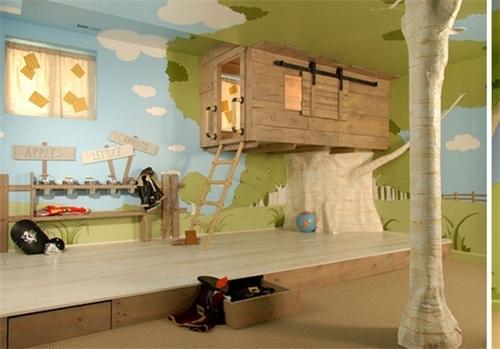 resized 437008 131 خلاقیت والدین برای اتاق کودک