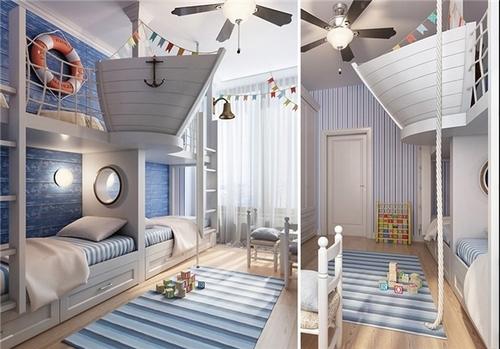 resized 437013 745 خلاقیت والدین برای اتاق کودک