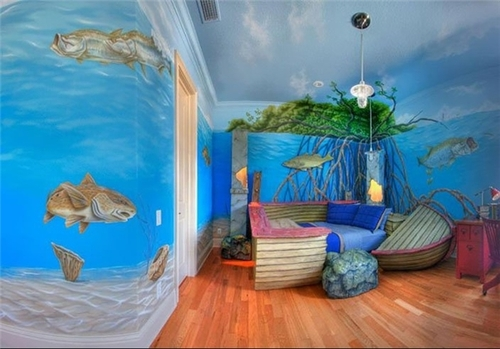 resized 437018 331 خلاقیت والدین برای اتاق کودک