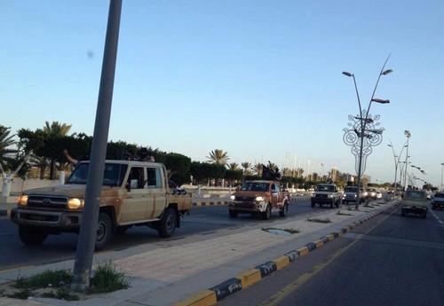 داعش در شهر سرت لیبی