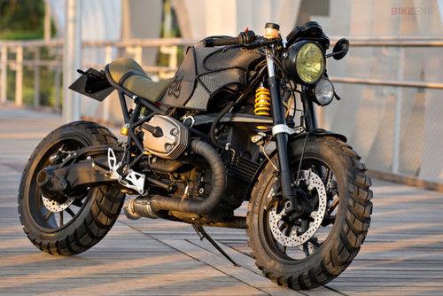 ۲. مدل: BMW R۱۲۰۰S؛ شرکت سازنده: Café Racer Dreams
