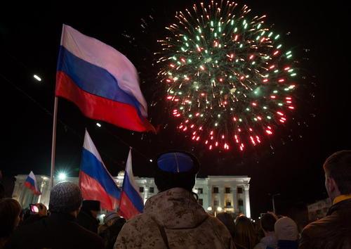جشن سالگرد الحاق به روسیه در شبه جزیره کریمه