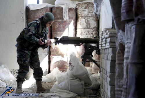 ارتش زنان سوریه ! ( تصاویر )