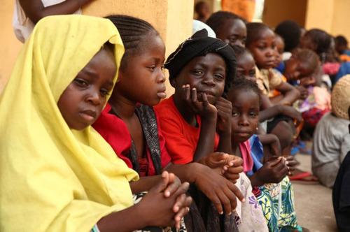 دختران آزاد شده کنیایی از دست گروه تروریستی بوکوحرام