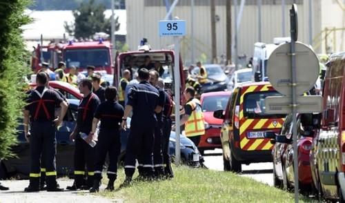 در حاشیه حمله مسلحانه به یک کارخانه در فرانسه
