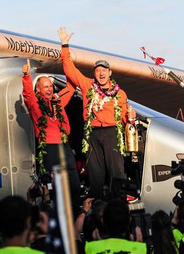 فرود موفق هواپیمای خورشیدی در فرودگاه هاوایی