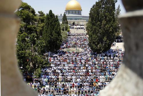 نماز جمعه در مسجد الاقصی