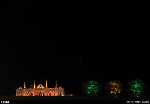 افتتاح یک باغ در کرمان با حضور وزیر کشور+عکس