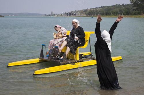 افتتاح نخستین ساحل اختصاصی زنان در منطقه گروزنی - چچن روسیه