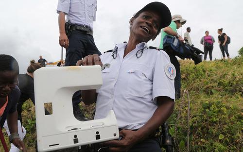 کشف یک قطعه جدید از هواپیمای مفقود شده مالزی در سواحل جزیره ریونیون