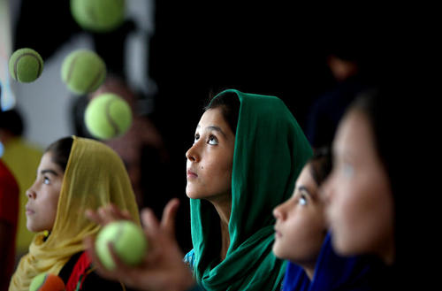 یک سیرک سیار برای کودکان – کابل