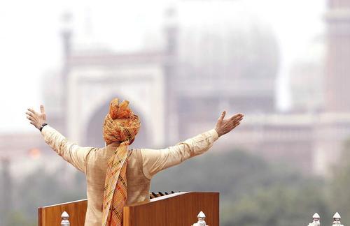 سخنرانی نارندرا مودی نخست وزیر هند در شصت و نهمین سالگرد استقلال هند – دهلی نو