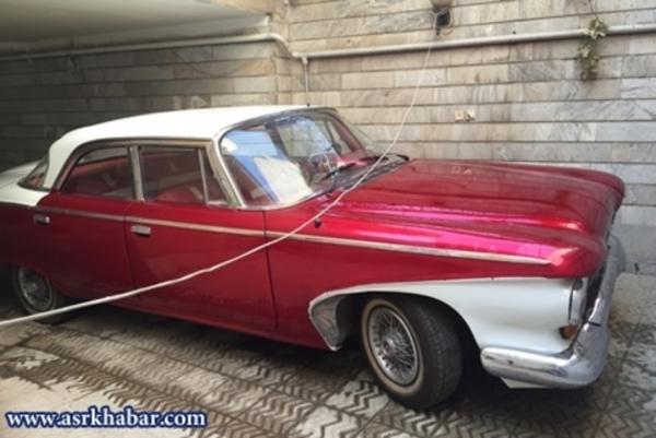 فروش خودروی خاص ۵۵ ساله به قیمت ۹۰ میلیون در تهران +عکس