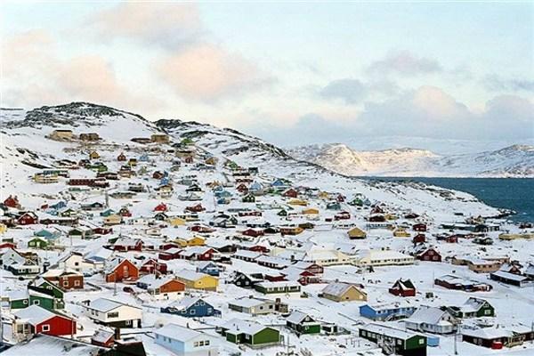 16 - کاکورتوک، در جنوب جزیره گرینلند (گروئنلند).