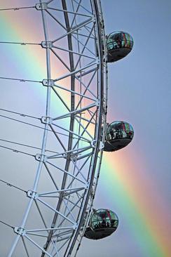 چرخ و فلک بزرگ شهر لندن