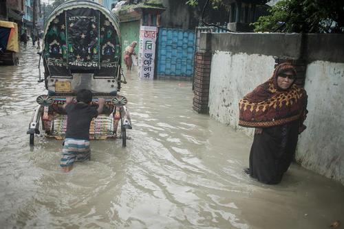 سیل در بنگلادش