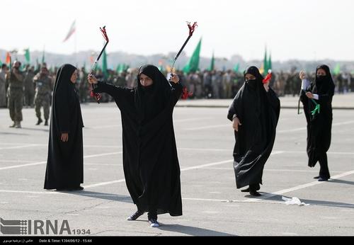 زن سپاهی زن بسیجی دختر بسیجی