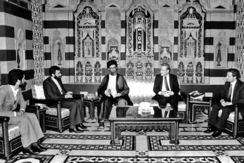 مذاکرات رسمی حضرت آیتالله خامنهای و مرحوم حافظ اسد