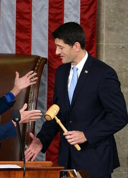 انتخاب پال رایان به عنوان رییس جدید جمهوریخواه مجلس نمایندگان آمریکا