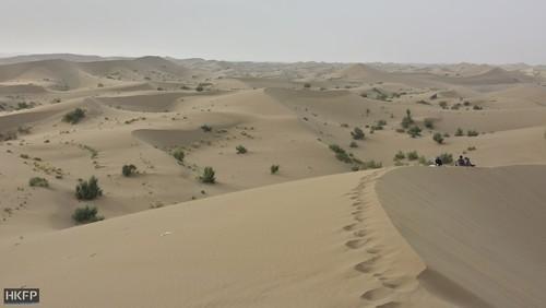 تپه های شنی نزدیکی شهر تودشک از توابع استان اصفهان
