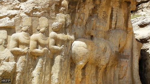 استان فارس مجموعه نقش رستم