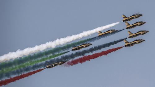 گروهی از جنگنده های نیروی هوایی امارات
