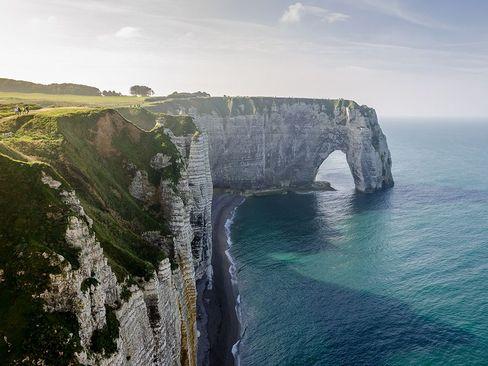 ساحل صخره ای – فرانسه