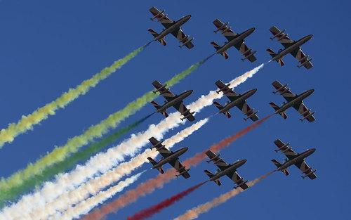 نمایش هوایی – ایتالیا