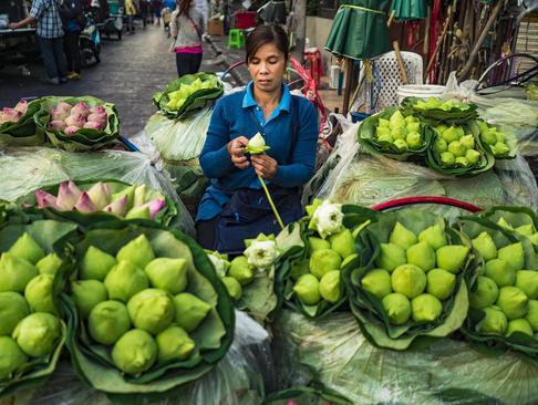 گل فروشی – بانکوک تایلند